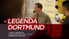 Berita video wawancara eksklusif legenda Borussia Dortmund, Jorg Heinrich, di Jakarta.