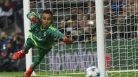 Penjaga gawang Real Madrid asal Kosta Rika, Keylor Navas. (AFP/Curto de la Torre)