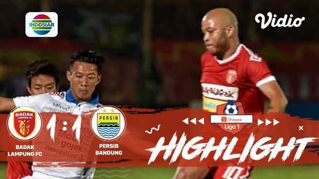 Laga lanjutan #Shopeeliga1, #BadakLampungFC VS #PersibBandung di Stadion Sumpah Pemuda pada hari Minggu malam hari (25/08/2019) be...