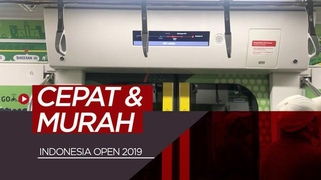 Berita video vlog Bola.com kali ini mencoba menuju ke venue Indonesia Open 2019 di Istora Senayan, Jakarta, dengan MRT (Moda Raya Terpadu).