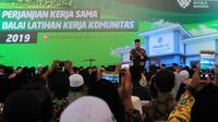 Tahun ini, Kemnaker berikan bantuan 1.000 BLK Komunitas ke pesantren di seluruh Indonesia.