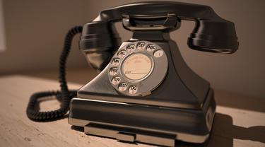 Ilustrasi telepon