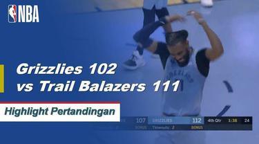 Mike Conley memberikan kinerja yang luar biasa dengan 40 poin karir tertinggi saat Grizzlies memenangkan thriller atas Blazers.
