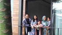 Meisya Siregar dan keluarga (Instagram/meisya_siregar)