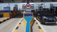 Tol Palindra yang jadi tol pertama di Sumsel sudah ditetapkan tarif baru per tanggal 21 September 2018 (Liputan6.com / Nefri Inge)
