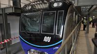 Kini pengguna MRT sudah mencapai lebih dari 80 ribu penumpang.