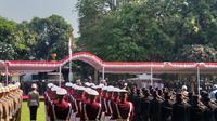 Presiden Jokowi pimpin upacara Hari Kesaktian Pancasila. (Merdeka.com)