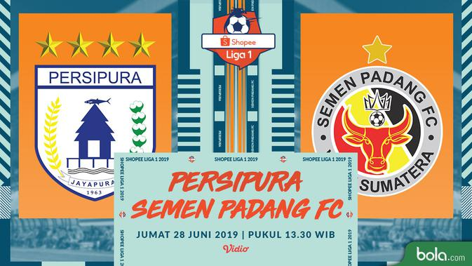 Live Streaming Shopee Liga 1 Persipura vs Semen Padang di Vidio 2