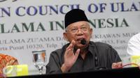 Majunya KH. Ma'aruf Amin sebagai Bakal Cawapres atau Calon Wakil Presiden periode 2019 - 2024 mendampingi Joko Widodo, ternyata disambut baik dan banyak harapan para ulama di Tangerang.