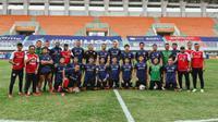 Skuat Persiraja Banda Aceh menargetkan tujuh poin pada seri kedua BRI Liga 1 2021/2022 yang digelar di Yogyakarta dan Jateng.(Bola.com/Gatot Susetyo)