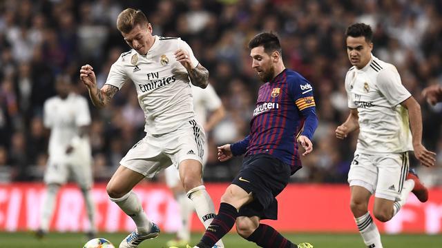 Barcelona Taklukan Perlawanan Real Madrid