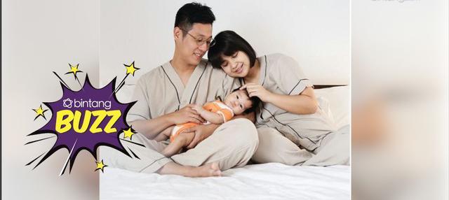 Untuk pertama kalinya Putri Titian dan Junior Liem Rayakan Imlek Bareng Anak.