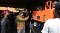 Bupati Banyuwangi, Abdullah Azwar Anas, saat membuka acara Safari TOSS (Tempat Olah Sampah Setempat), Seminar, dan Pelatihan virtual di Banyuwangi, Selasa (8/9/2020).