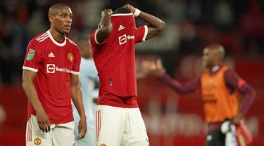 Foto: Dipermalukan West Ham, Manchester United Angkat Koper dari Carabao Cup