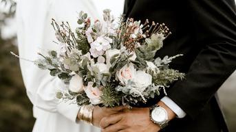 Cara Unik Pasangan Pengantin Rayakan Pernikahan di Gerbong Kereta Api