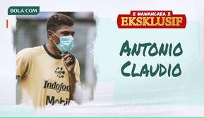 Wawancara Eksklusif - Antonio Claudio (Bola.com/Adreanus Titus)