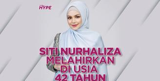 Siti Nurhaliza Melahirkan Bayi Laki-Laki di Usia 42 Tahun