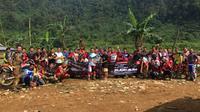 Uji ketangguhan CRF150L, sebanyak 15 peserta yang terdiri dari konsumen dan anggota komunitas diajak berpetualang dialam bebas bersama Wahana (Wahana)