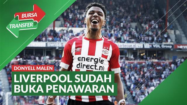 Berita Video Liverpool Bidik Pemain Muda Timnas Belanda, Donyell Malen