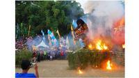 Perayaan satu Suro (Sumber: Instagram/@disparbudkabmalang)