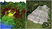 Dengan menggunakan teknologi LIDAR pada satelit, para ahli arkeologi mungkin dapat menemukan situs-situs purbakala yang selama ini terluput. (Sumber USA Today)