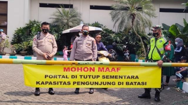 17 kolam renang di Bogor ditutup, Minggu (16/5/2021)