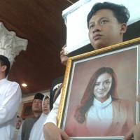 Rumah duka Dylan Sahara, Istri Ifan Seventeen. (Liputan6.com/Dian Kurniawan)