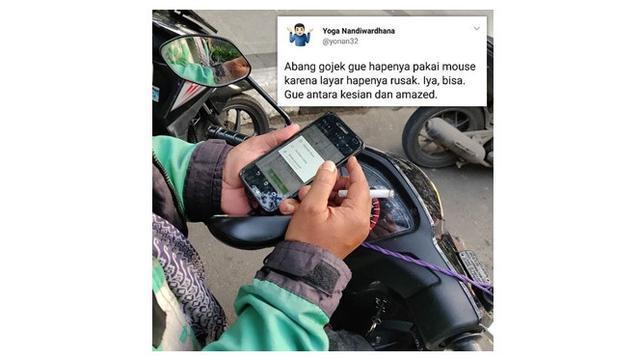 Inovasi Ojol  (Sumber: Instagram/lambe_ojol/)