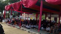TKN Jokowi-Ma'ruf menggelar salawat bersama Koordinator Nasional (Kornas) Komunitas Anak Republik.