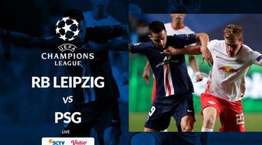 Berita motion grafis statistik RB Leipzig vs PSG pada semifinal Liga Champions 2019-2020, Rabu (19/8/2020).