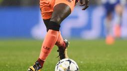 2. Sadio Mane - Biaya 34 juta Pounds dikeluarkan The Reds demi menikmati jasa pemain Senegal ini. Musim lalu ia menjadi pemain terbaik Liverpool dengan 13 gol yang ia ciptakan. (AFP/Miguel Riopa)