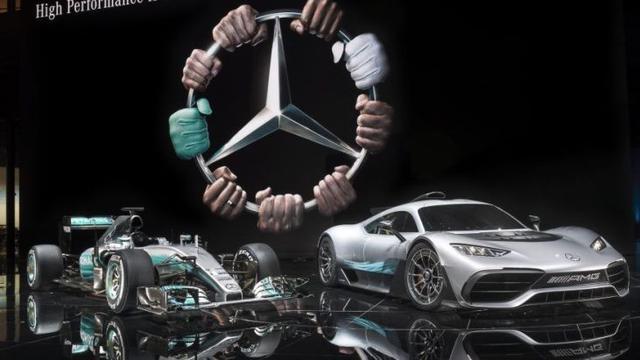 Canggihnya Supercar Khusus Jalanan Mercedes Benz Bermesin F1 Otomotif Liputan6 Com