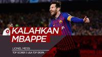 Berita video Lionel Messi menjadi yang tersubur di 5 liga top Eropa dan mengalahkan Kylian Mbappe, Fabio Quagliarella, Robert Lewandowski, dan Pierre-Emerick Aubameyang.