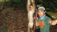 Pemandagan sadis pelaku kekerasan terhadap hewan kembali terjadi.