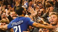 Penampilan Davide Zappacosta bersama mendapat pujian dari Antonio Conte. (doc. Chelsea FC)