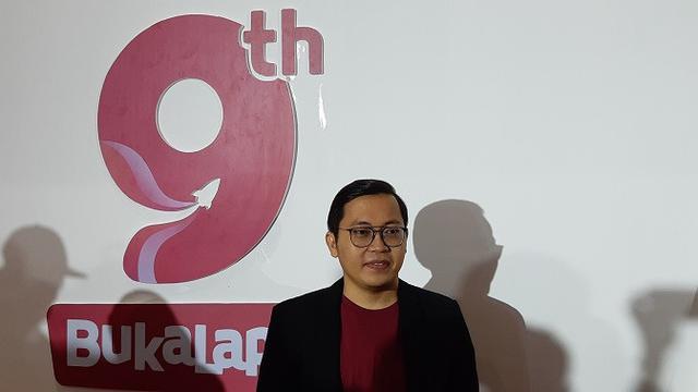 CEO  Bukalapak Achmad Zaky