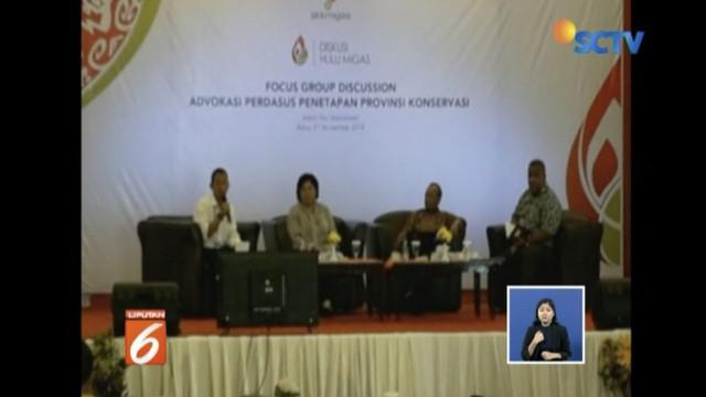 SKK Migas mencetuskan ide Provinsi Papua dan Papua Barat menjadi wilayah konservasi.