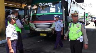 Organisasi Angkutan Daerah DKI himbau pengemudi bus tidak sembarangan membunyikan klakson telolet.