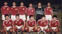 Timnas Indonesia di SEA Games 1991. (Bola.com/Repro)
