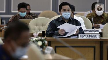 FOTO: Erick Thohir dan DPR Bahas Penyelamatan Perbankan Akibat COVID-19
