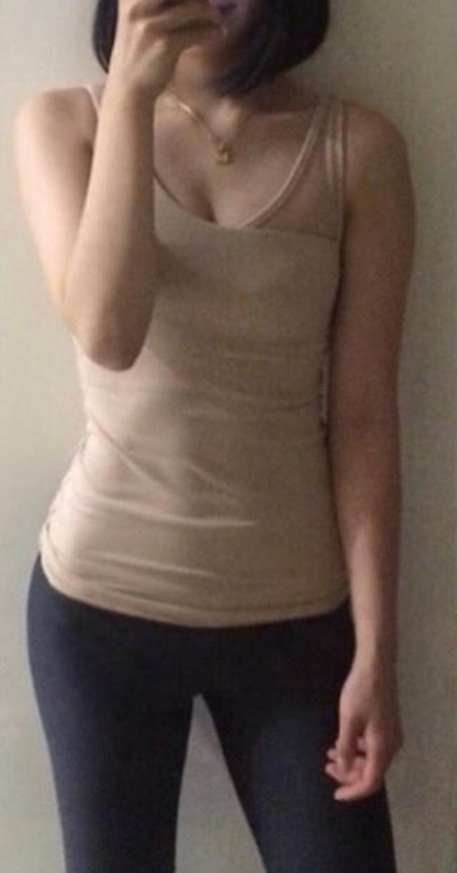 Eun Ju dengan bentuk tubuh yang langsing/copyright viral4real.com