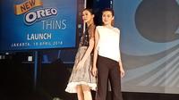 Oreo Thins kini hadir di Indonesia sebagai camilan bagi wanita aktif (Liputan6/Vinsensia Dianawanti)