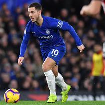 4. Eden Hazard (Chelsea) - 10 gol dan 10 assist (AFP/Ben Stansall)
