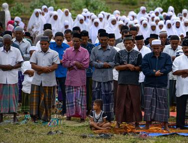 Salat Istisqa di Banda Aceh