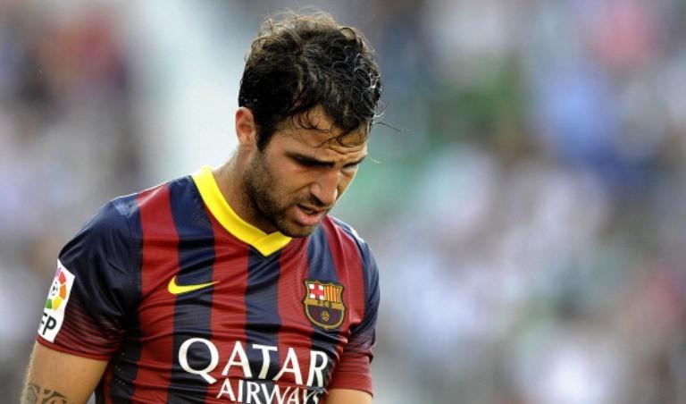 Cesc Fabregas tidak bisa menolak pinangan Barcelona pada 2011. (AFP/Jose Jordan)
