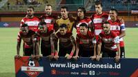 Skuat Madura United di Liga 1 2019. (Bola.com/Aditya Wany)