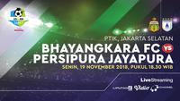 Bhayangkara fc vs Persipura Jayapura