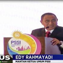 Edy yang juga Gubernur Sumatera Utara ini mengakui banyak kegagalam dalam tubuh PSSI.
