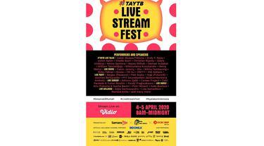 Saksikan TAYTB Live Stream Fest pada 4 dan 5 April 2020 di Vidio.com