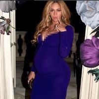 Beyonce tetap tampil seksi meski tengah hamil besar. (Instagram/beyonce)
